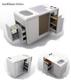 All in one kitchen units for compact urban homes  Hometone