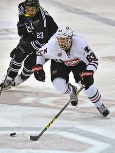 Patrick Russell from Denmark recently completed his sophomore season with the Huskies