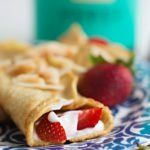 The Best Almond Flour Low Carb Crepes - Perfect Keto Low Carb Crepes, Healthy Crepes, Healthy Low Carb Recipes, Healthy Dinner Recipes, Keto Recipes, Gluten Free Crepes, Pouding Chia, Bolo Vegan, Vegan Cake