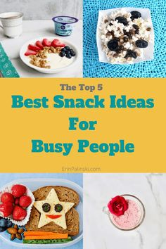 The best snack ideas for busy people. #recipes #snackideas #healthymeal #deliciousrecipes #healthylifestyle