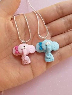 Elephant necklace fo