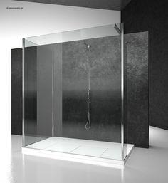 s2+sk+sz : sk-in shower enclosures models - fixed panel (walk in)   by @vismaravetro