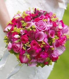 Beautiful bouquet with Calla