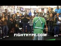 MANNY PACQUIAO OPEN WORKOUT FOR BRADLEY FIGHT (5/30)