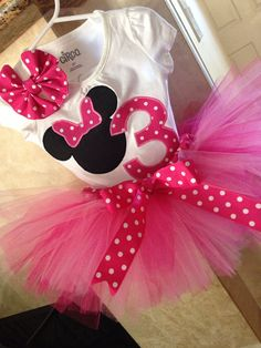 RESERVED Minnie Mouse shipping cost by Hi5babyHandmadeGoods. Minnie Mouse. Minnie Mouse birthday party. Minnie Mouse birthday outfit. Minnie Mouse birthday tutu. Polka dots. Pink. Tutu. Trends. Fall 2013 trends.aby gifts, baby christmas gifts, christmas gifts for baby, baby shower, baby shower gift ideas IF YOU WOULD LIKE A CUSTOM ORDER PLEASE MESSAGE ME THROUGH MY ETSY SHOP FOR PRICING. tHANK YOu!!! Hi5babyhandmadegoods.etsy.com