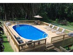 120 Above Ground Pool Decks Ideas Above Ground Pool Decks Pool Decks Above Ground Pool