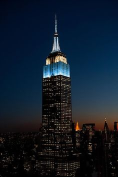 The Empire State Building, New York