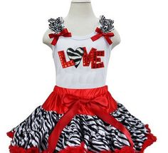 LOVE ZEBRA SET Price: $44.99, Free Shipping Options: 1/2T, 3/4T, 5/7 click to purchase
