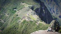 Photo of the Day - #Machu #Picchu #From #The #Heavens - #Wayna #Picchu - Near #Cusco, #Peru - The view from the top of Wayna Picchu was the highlight of my trip to Peru and one of the top travel experiences of my life. Getting to this spot requires a reasonably dangerous four-hundred meter climb and a serious pause of any fear you might have of heights, but this surreal view is well worth it. Photo from #absolutevisit at www.absolutevisit.com - all images Creative Commons Noncommercial