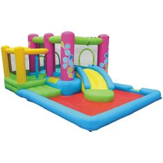 Little Sprout All-In-One Bounce 'N Slide Combo #BounceHouse