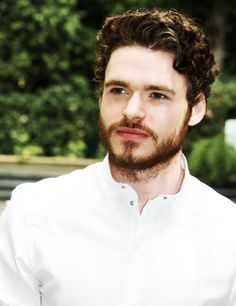 i understand it's rude but there's something about you that makes me stare. Robb Stark. Oh, real life name Richard Madden