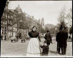 Amsterdam Jonas Daniel Meyerplein, 10 mei 1902