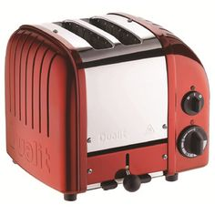 Dualit 2-Slice NewGen Toaster in Apple Candy Red