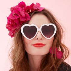 - Description - SIZE & FIT you'll be a modern-day lolita in these cute heart sunnies, the kind that snapchat stories are written about. own it, girl. - heart-shaped - made with an acetate based frame