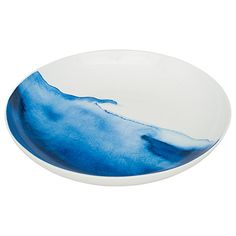 Buy Rick Stein Coves of Cornwall Constantine Bay Serving Dish, Blue/White, Dia.32cm Online at johnlewis.com