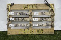 Festival wedding pallet goodness by fair & talented maiden @loakleygreen #festivalwedding #rustic