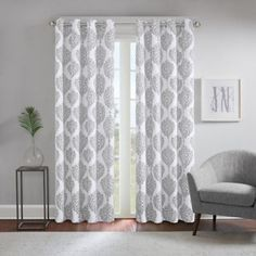 Regency Heights® Zion Grommet Top Window Curtain Panel - Bed Bath & Beyond