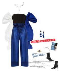 Designer Clothes, Shoes & Bags for Women Olympia Le Tan, Velvet Fashion, Sydney Evan, Stella Mccartney, Harem Pants, Drama, Polyvore, Stuff To Buy, Shopping