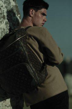 Jonathan Bauer Hayden Rocks Louis Vuitton for Sorbet Editorial