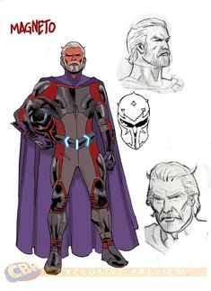 CHARACTER MODEL — (via Remender Creates a New Marvel Universe in...