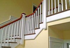 Beautiful bespoke custom handmade staircase and hand rails