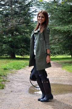 rainy day style.....boots