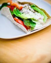 Turkey Caesar Wraps recipe