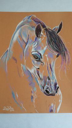 Pastel  Guylaine Simard