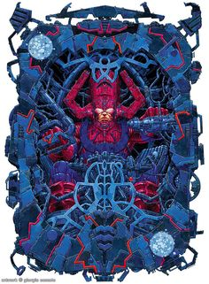 Galactus-because he isn't just some big cloud in space...