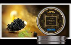 """Refonte des packagings Fauchon, un exemple : """"le Caviar"""""""