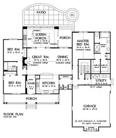 Awesome layout!! I like the dining room next to the great room. I would move the fireplace and center an entertainment center
