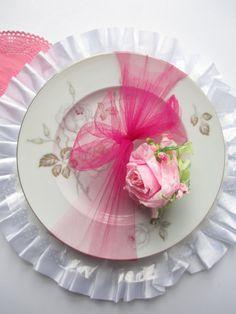 Vintage Johann Haviland Sweetheart Rose Pink by thechinagirl