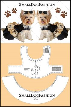 Dog clothes pattern for small dog sewing pattern dog dress Small dog clothes PDF dog clothes Girl dog clothes small PDF dog pattern for pets Girl Dog Clothes, Puppy Clothes, Clothes For Dogs, Small Dog Clothes Patterns, Pekinese, Dog Pattern, Pattern Sewing, Girl And Dog, Dog Sweaters