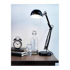 FORSÅ Bureaulamp IKEA Gericht licht, geeft een goed geconcentreerd leeslicht.