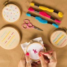 Embroidery 1: Basic Stitches