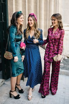 Invitada perfecta (II) by Por parte de la novia Glamour, Dresses With Sleeves, Long Sleeve, Fashion, Something Borrowed, Long Sleeve Dresses, Parts Of The Mass, Blue, Boyfriends