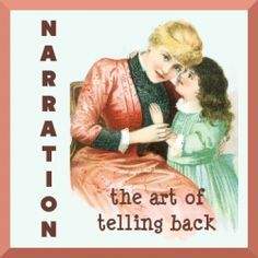 Narration Helps: Ask your child to tell you what happened in this week's read-aloud and record their words for them on the lines provided. Then let them illustrate it.