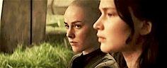 "etherealfinnick: "" ""johanna in the new mockingjay part 2 trailer (x) "" "" Hunger Games Catching Fire, Hunger Games Trilogy, John Green Books, Johanna Mason, Mocking Jay, Katniss And Peeta, Mockingjay Part 2, Music Tv, Funny Games"