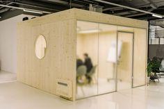 In ökologischer Umgebung arbeiten - Büroboxen aus Holz Arch, Environment, Life, Timber Wood, Homes, Bow, Arches