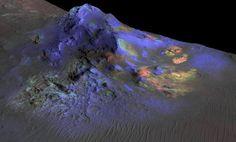Glas wurde auf der Mars-Oberfläche entdeckt. - © APAweb/EPA,...