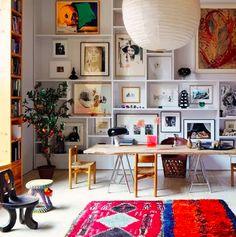 Art in shelves