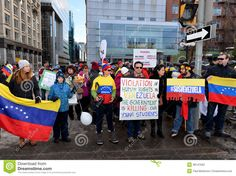 Image from http://thumbs.dreamstime.com/z/sos-venezuela-protest-ottawa-venezuelans-gather-front-parliament-hill-to-bring-attention-to-plight-their-countrymen-38147593.jpg.