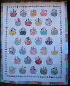 Cute basket quilt