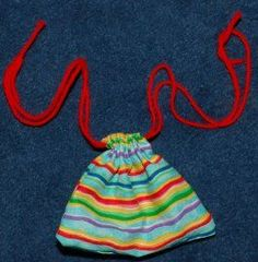 Simple sewing projects to teach kids to sew. Make at a kids craft party to fill with treats.