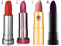 Best Lipstick Shades For Your Skin Tone - Best Red Pink Nude and Dark Lipsticks