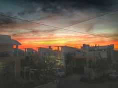 Sunset... Edited on #snapseed