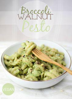 Broccoli Walnut Pesto | Produce On Parade
