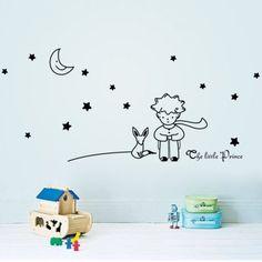 Vinilo para habitación infantil The little Prince