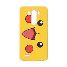 CaseCoco:LG G3 Pokeman Pikachu Cute Happy Face Case ID:6199-57491