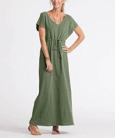 Look what I found on #zulily! Moss Moonshade Maxi Dress #zulilyfinds